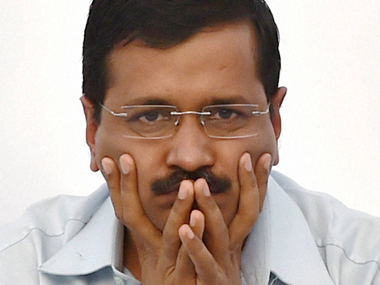 A file photo of Arvind Kejriwal of the AAP. PTI