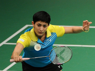 File photo of Ashwini Ponnappa. Getty Images