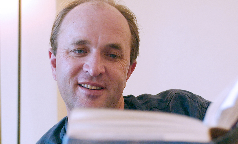 William Dalrymple. Image from AFP