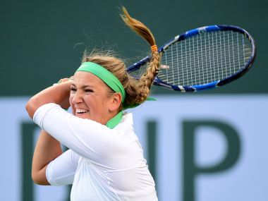 Victoria Azarenka at Indian Wells. Getty Images