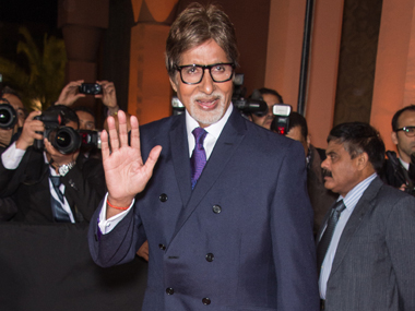 Amitabh Bachchan. Getty Images