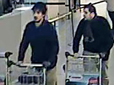 A file photo of Brussels attack suspects. AFP