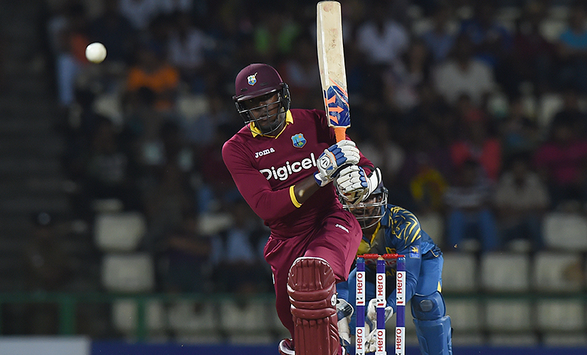 Carlos Brathwaite. Getty AFP
