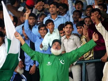 Chacha Pakistan has been travelling to support the Pakistan team since 1998. Reuters