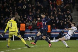 Chelsea take on PSG in Round of 16 second leg.AFP