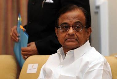 File image of P Chidambaram. AFP