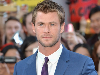 Chris Hemsworth. Image from IBNlive