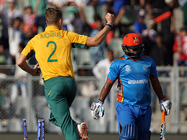 Chris Morris removed Mohammad Shahzad. Solaris Images