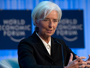 File photo of Christine Lagarde. AFP
