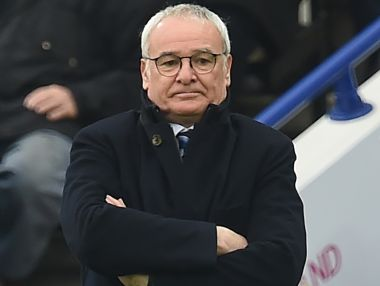File photo of Leicester City's manager Claudio Ranieri. AFP