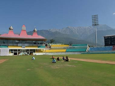 Dharamsala stadium. File photo. Getty images