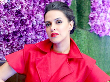 Neha Dhupia. Image from IBNlive