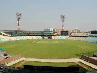 Eden Gardens stadium in Kolkata. AFP