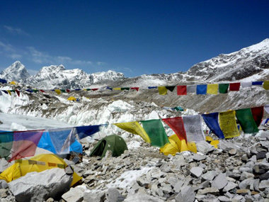 File photo of Everest. AFP