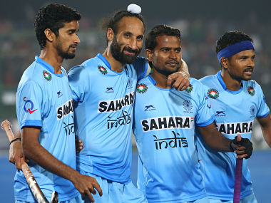 File photo of the Indian hockey team. Getty Images