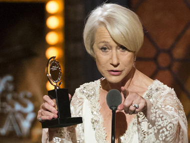 Helen Mirren. Image from IBNlive
