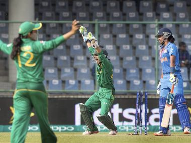 Pakistan appeal during their game against India. GettyImages