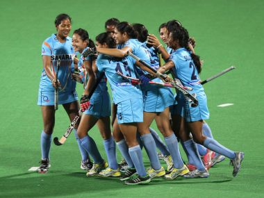 File photo of the Indian hockey women's team. Reuters