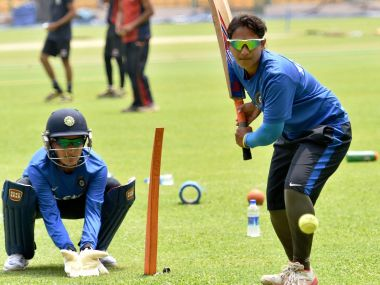 Indian Women's Cricket team practice during World T20 . PTI
