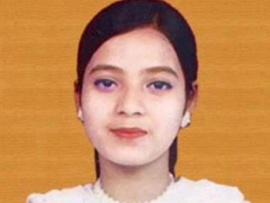 Ishrat Jahan. Image courtesy: CNN-News18