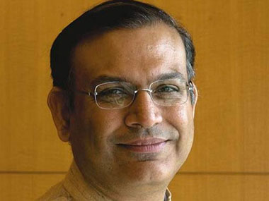 Minister of State Finance Jayant Sinha