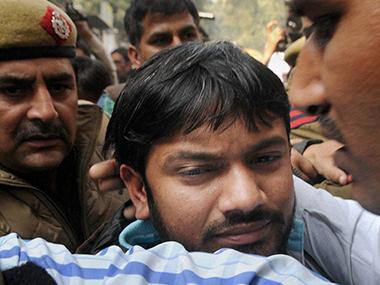 Kanhaiya Kumar in a file photo. PTI