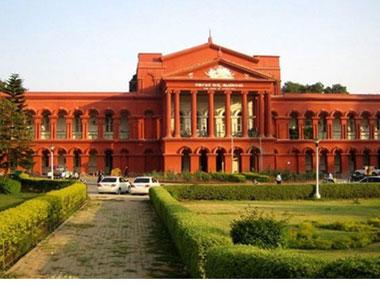 A file photo of Karnataka High Court. Agencies