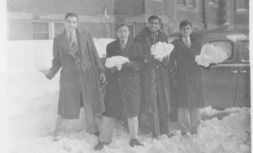 Indian students at MIT, 1940