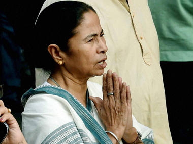 A file photo of Mamata Banerjee.  PTI