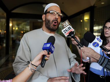 A file photo of Man Haron Monis. AP