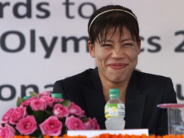 File Photo of MC Mary Kom. GettyImages