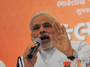 Prime Minister Narendra Modi in a file photo. AFP