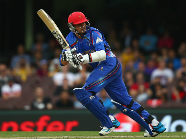 Mohammad Nabi top-scored with a 43-ball 52. Getty Images