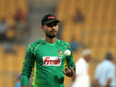 Bangladesh captain Masrafe Bin Mortaza. Solaris