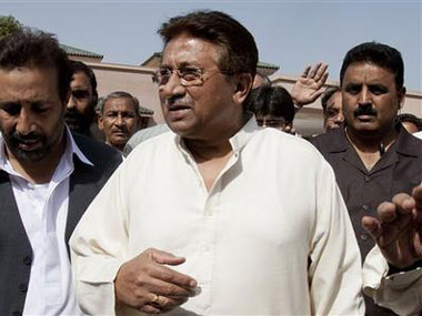Pervez Musharraf. File photo. AP
