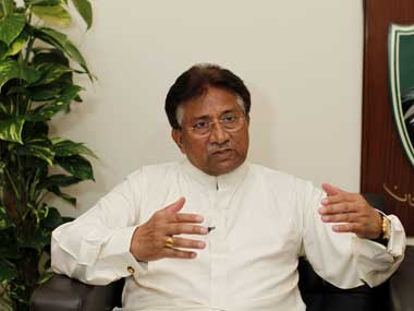 File photo of Pervez Musharraf. Reuters