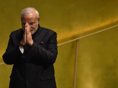 Narendra Modi. File photo. AFP