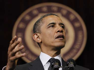 File photo of US President Barack Obama. AP