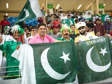File photo of Pakistani fans. Getty Images