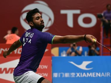 Indian Shuttler, HS Prannoy. AFP