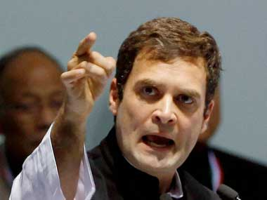 File photo of Congress Vice-President Rahul Gandhi. PTI