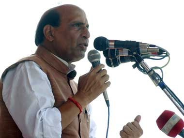 Union Home Minister Rajnath Singh. Reuters