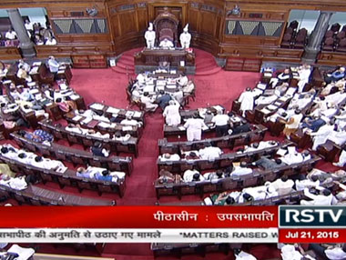 Representational image. Image courtesy: Rajya Sabha TV