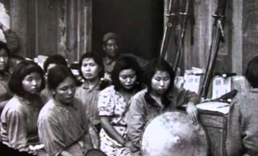 Women in Nanking. Screen grab from YouTube