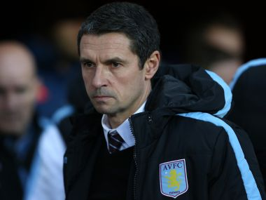 File photo of Aston Villa manager Remi Garde. AP