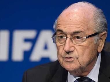 File photo of Sepp Blatter. IBNlive