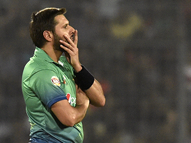 File image of Pakistan captain Shahid Afridi. AFP