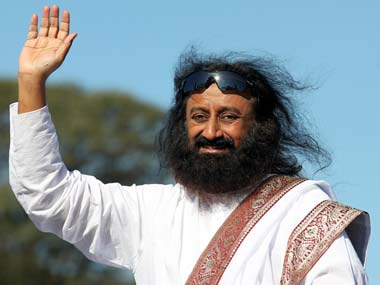 Sri Sri Ravi Shankar in a file photo. Reuters