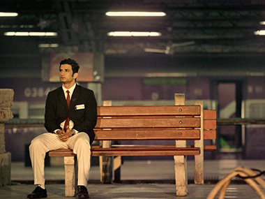 Sushant Singh Rajput as Mahendra Singh Dhoni in MS Dhoni: The Untold Story