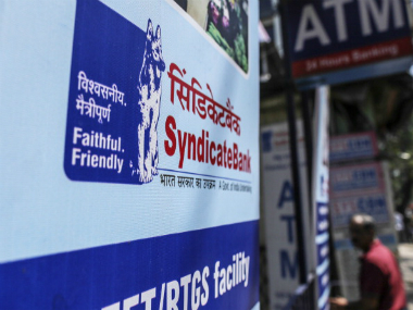 Syndicate Bank. GETTY IMAGES